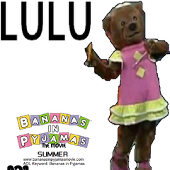 Lulu's (voiced by Carolyn Lawrence) character poster, released on January 10, 2001.