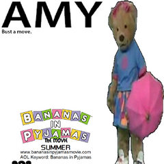 Amy's (voiced by Lori Alan) character poster, released on January 10, 2001.