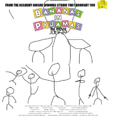 The second theatrical poster for the film, released on June 29, 2001.