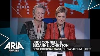 Judi Connelli & Suzanne Johnston win Best Original Show Cast Album 1999 ARIA Awards