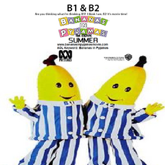 B1 & B2's (voiced by Ben Stiller and David Spade) character poster, released on January 10, 2001.