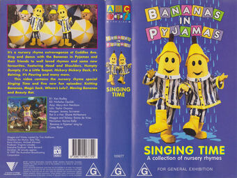 Singing Time Special Bananas In