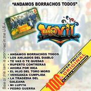 Banda Movil-Andamos Borrachos Todos-Frontal