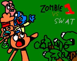 ZombieVsSwatWallpaper