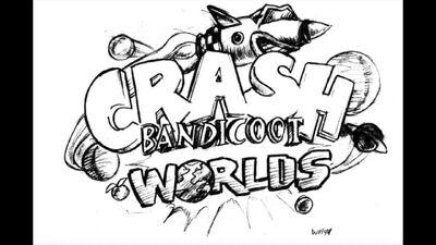 Crash Bandicoot - unseen concept art! Alternative villain and game name! 08