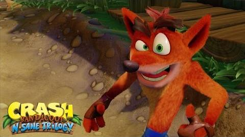 The Comeback Trailer Crash Bandicoot® N. Sane Trilogy Crash Bandicoot