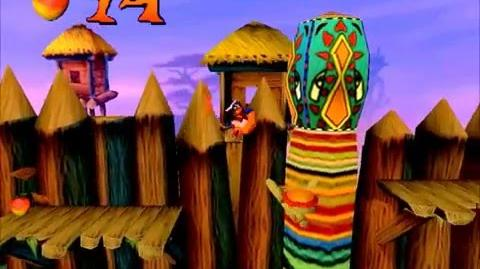 Crash Bandicoot 1- The Great Gate (Another way to get a gem) -2