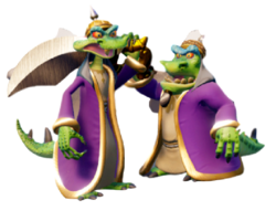 Komodo Brothers (Crash Bandicoot N Sane Trilogy)