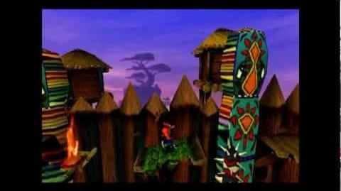 Native Fortress - Clear Gem - Crash Bandicoot - 100% Playthrough (Part 22)