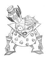 Crash N Gin Sketch by residentlilly
