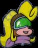 Crash Bandicoot N. Sane Trilogy Coco Bandicoot Flying Icon