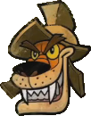 Crash Bandicoot N. Sane Trilogy Tiny Tiger Icon