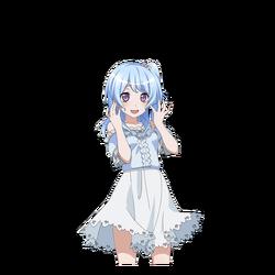 Gentle Girl transparent