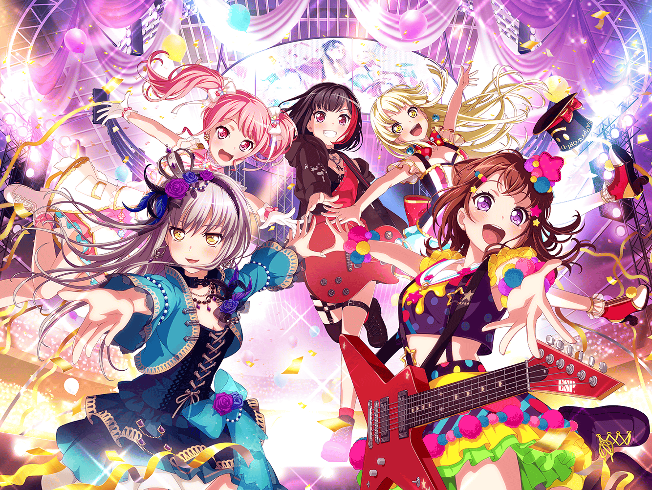 JP limited Ako Girls/' Band Party BanG Dream 70000 Gems starter account