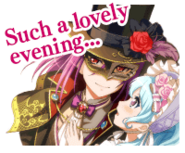 Happy Phantom Thief & The Luxury Cruise Worldwide Event Stamp