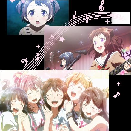 BanG Dream! Anime Image Intro