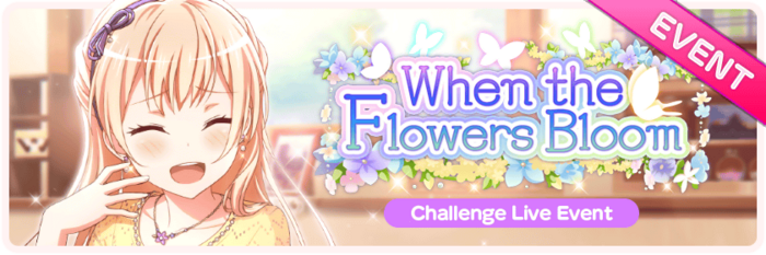 When the Flowers Bloom Worldwide Event Banner