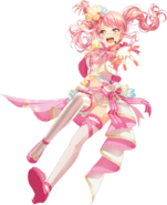 An Idol that Inspires T transparent (full body version)