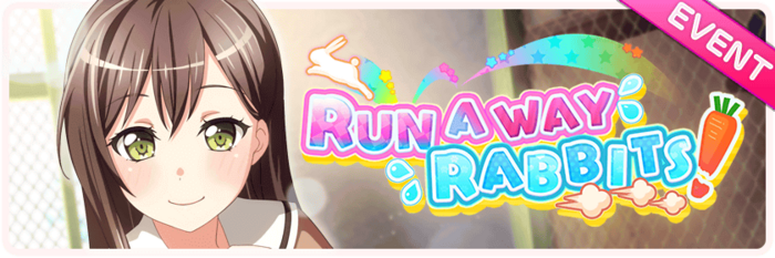 Run Away Rabbits! Worldwide Event Banner