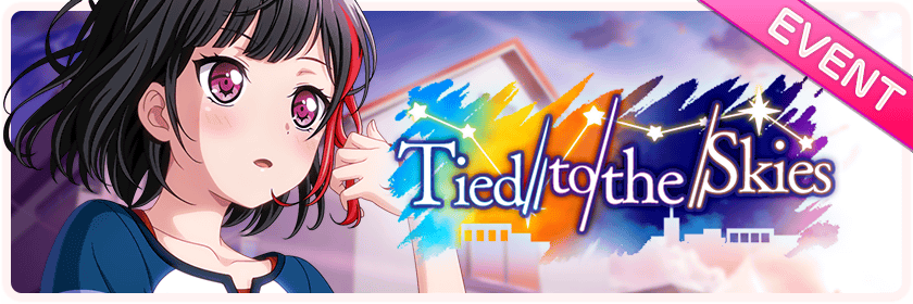Tied to the Skies Worldwide Event Banner