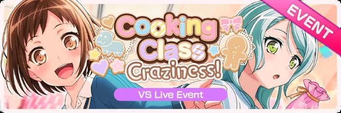 Cooking Class Craziness! Worldwide Event Banner