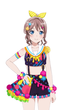 Poppin' Colors! (Yamabuki Saaya) Live2D Model