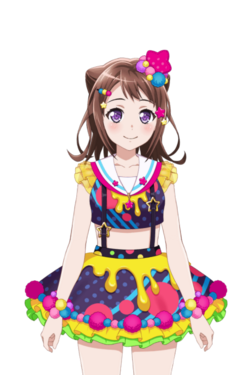Poppin' Colors! (Toyama Kasumi) Live2D Model