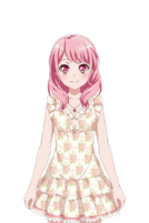 Pretty In Pink☆ Live2D Model
