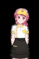 Maruyama Aya - Fast Food Uniform Live2D Model