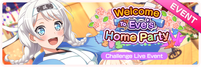 Welcome To Eve's Home Party Worldwide Event Banner