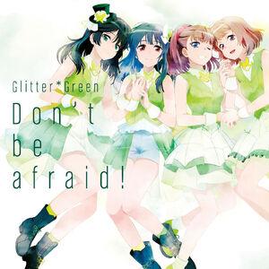Glitter*Green 1st Single Regular Edition Cover