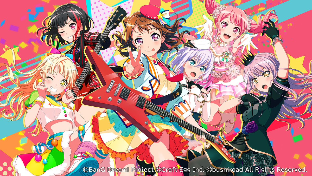 Girls Band Party Roselia Button Badge Vol.2 Bushiroad Event Limited BanG Dream