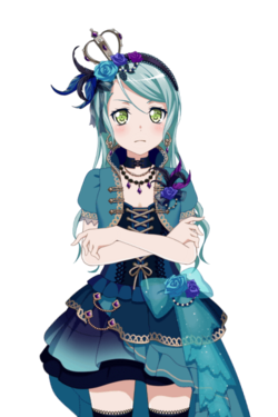 Blue Roses in Harmony (Hikawa Sayo) Live2D Model