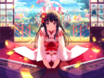 Cute Holiday Kimono T