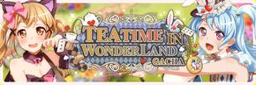 Teatime in Wonderland Worldwide Gacha Banner