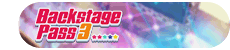 Backstage Pass 3 Event Title