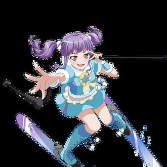 Strong Skier transparent