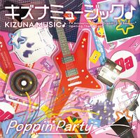 Poppin'Party 12th Single Blu-ray Cover