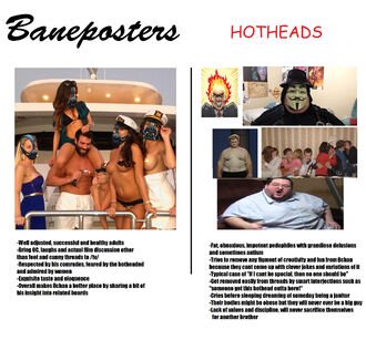 Baneposters and hotheads