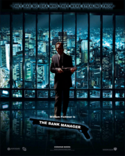 Bank manager poster