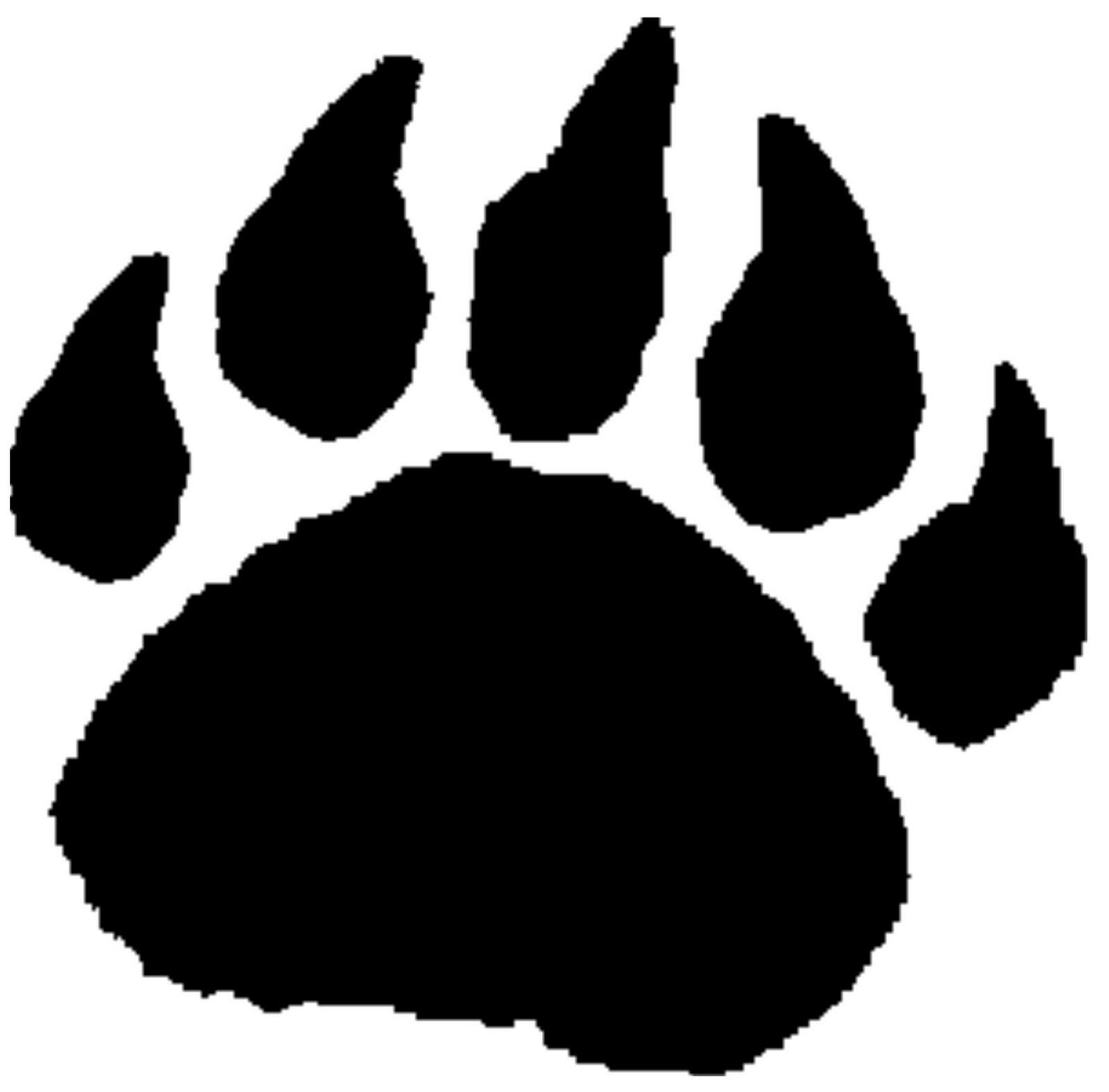 image 550ea234080be9aa359666a640b3279a grizzly bear paw print rh bang a rang org wikia com black bear paw print clip art bear paw prints clip art free