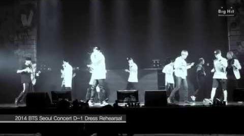 방탄소년단 STAGE TOMORROW @ THE RED BULLET IN SEOUL Dress Rehearsal