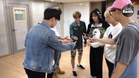 BANGTAN BOMB 방탄소년단 '뱁새' Dance Practice (흥 ver.)
