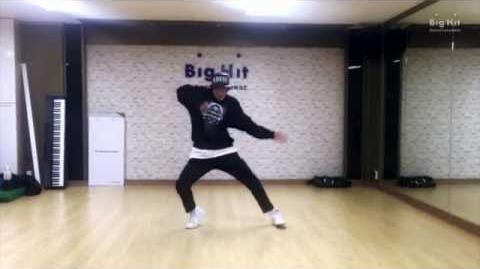 -CHOREOGRAPHY- BTS (방탄소년단) j-hope Dance Practice for 2015 Begins Concert