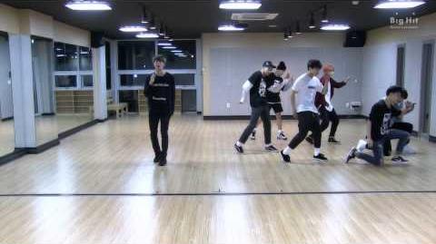 방탄소년단 'I NEED U' Dance Practice