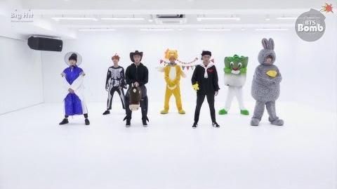 BANGTAN BOMB 방탄소년단 (BTS) '21세기 소녀 (21st Century Girl)' Dance Practice (Halloween ver