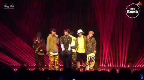 -BANGTAN BOMB- 'MIC Drop' stage @COMEBACK SHOW 'BTS DNA' - BTS (방탄소년단)