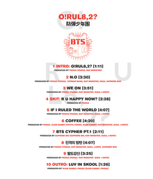 Orul82 tracklist