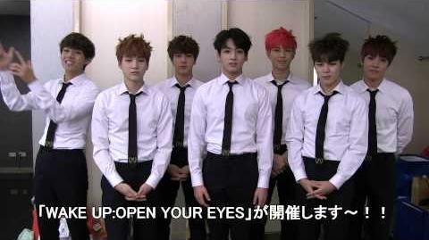 BTS (防弾少年団) 1st JAPAN TOUR 2015「WAKE UP-OPEN YOUR EYES」コメント