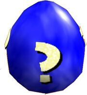 Blaues SnS Ei